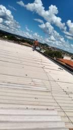 Telhado fazemos manutenção.