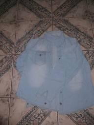 Camiseta jeans seminova