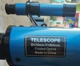 Telescópio Refrator Equatorial 70mm Profissional F90070eq comprar usado  Belo Horizonte
