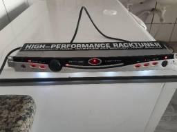 Afinador behringer racktuner str2000. Com rack light