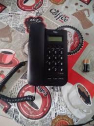 Telefone fixo com identificador de chamada