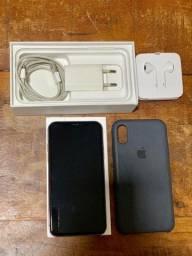 iPhone X 64Gb - Silver (branco)