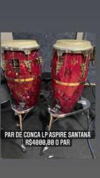Par de conga LP Aspire Santana
