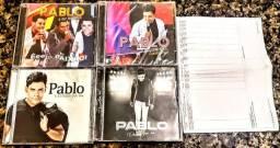 CDs Pablo A Voz Romântica, Com Nota Fiscal