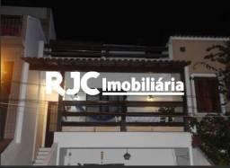 Casa de vila à venda com 3 dormitórios em Tijuca, Rio de janeiro cod:MBCV30098