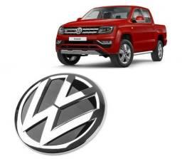 Emblema Logo Grade Dianteira Volks Amarok V6 2017 Até 2020 Todas