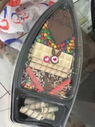 Barca de chocolate