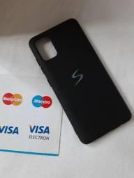 Capa Original Samsung do A51 usada poucas vezes- Aceito cartão