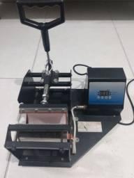 Máquina de estampar canecas