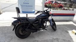 Vendo moto Daelim Custom Relíquia ano 99