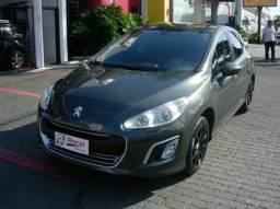 Peugeot 308 2013 cinza completo + mecânico