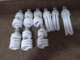 Lâmpadas  fluorescentes  bocal 27