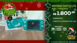 Promoção de natal! Nintendo Switch lite seminovo a pronta entrega!