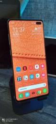 Galaxy S10 plus 128gb, aparelho completo na caixa!