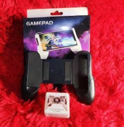 Kit Gamepad+gatilho para celular