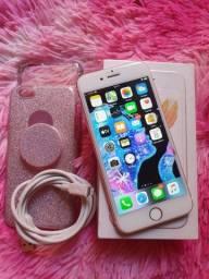VENDO IPHONE ROSE 6S 32GB, FUNCIONANDO PERFEITAMENTE, SEMI NOVO SEM MARCAS DE USO