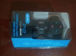 Controle Joystick sem fio Playstation 2