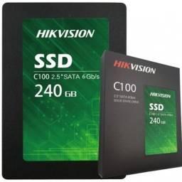 SSD Hikvision 240GB Sata Novo