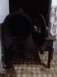 Forno e fogão a lenha de ferro fundido