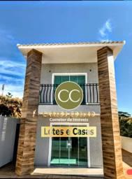 R9 Linda Casa em Cabo Frio Rj - Condomínio Residencial Leonor ( Fechado)