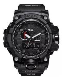 Relógio Masculino Militar Esportivo Digital Smael