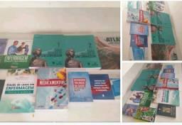 Kit livros completos técnico enfermagem