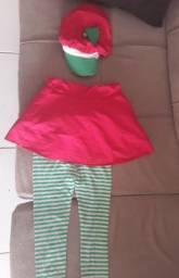Vende_se essas roupas de temas, capa da chapezinho vermelho E outro da moraguinho.