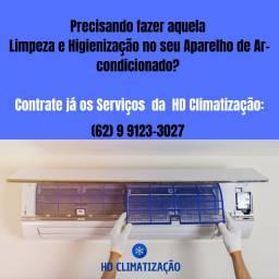 Limpeza e Higienização em aparelhos de Ar-condicionado