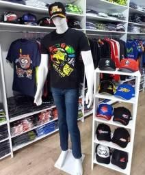 Estoque de Camisetas e Acessórios + Loja Virtual