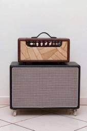 Amp Valvulado MFIO, clone do Fender Princeton