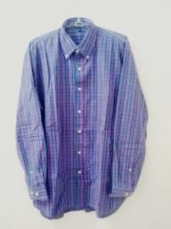 Título do anúncio:  Camisa Masculina - Marca Yachtsman, Original - Tamanho 3 (M) (Usada).