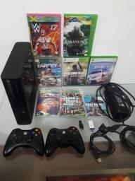 Título do anúncio: Xbox 360 Super slim destravado (entrego Curitiba e região metropolitana)