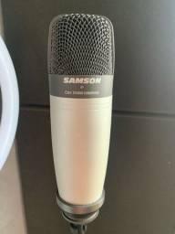 Microfone condensador Samson C01 ZERADO
