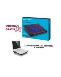 Título do anúncio: Cooler Multilaser Para Notebook Slim Com Led - AC263