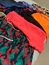 Shorts - Florido Neon Tactel