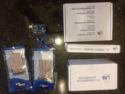 Kit completo Eletrônica + Arduíno Uno R3