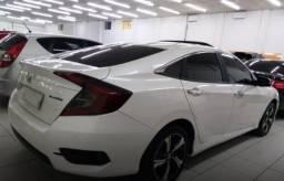 Título do anúncio: Honda Civic 1.5 16v turbo branco 4p cvt 2017