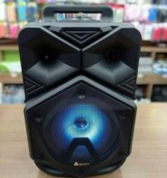 Caixa de Som Bluetooth Amplificada