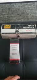 Relógio comparador e base magnética