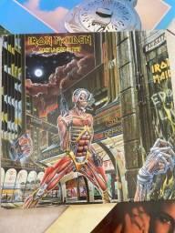 Disco de Vinil lp Iron Maiden, Somewhere in Time