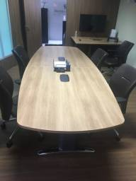 Mesa de reunião 12 lugares