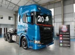 Scania R500 6x4 2020 com Retarder R 500