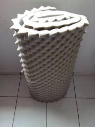 Colchão de solteiro de casca de ovo