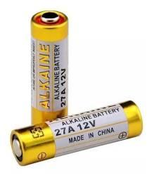 Pilha Bateria Para Controle Portão Motor Eletrônico 12V 27A - 7377