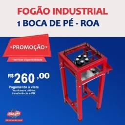 Título do anúncio: Fogão industrial 1 boca de pé (Sem forno)