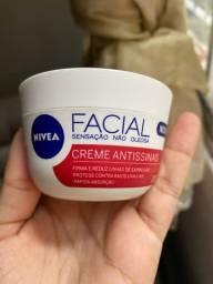 Creme facial Nivia antissinais
