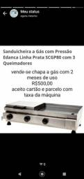 Título do anúncio: Chapa a gás para sanduíches