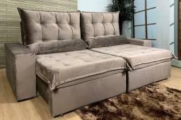 Sofa Retratil e Reclinavel prazo de 2 a 7 dias para entrega frete gratis