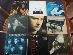 Discos de Vinil (LP, Compacto simples e compacto Duplo)