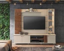 """Título do anúncio: Home para tv Riviera 100% MDF Para TV Ate 60"""" Polegadas - Permobili"""